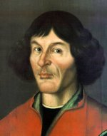 Nicolaus Copernicus (portrait from Town Hall in Toruń - 1580)