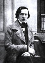 The only known photograph of Frédéric Chopin (ca 1849)