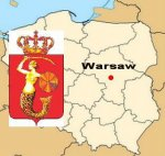 Warsaw Coat of arms and location