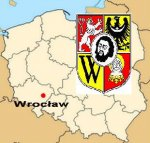 Wrocław Coat of arms and location